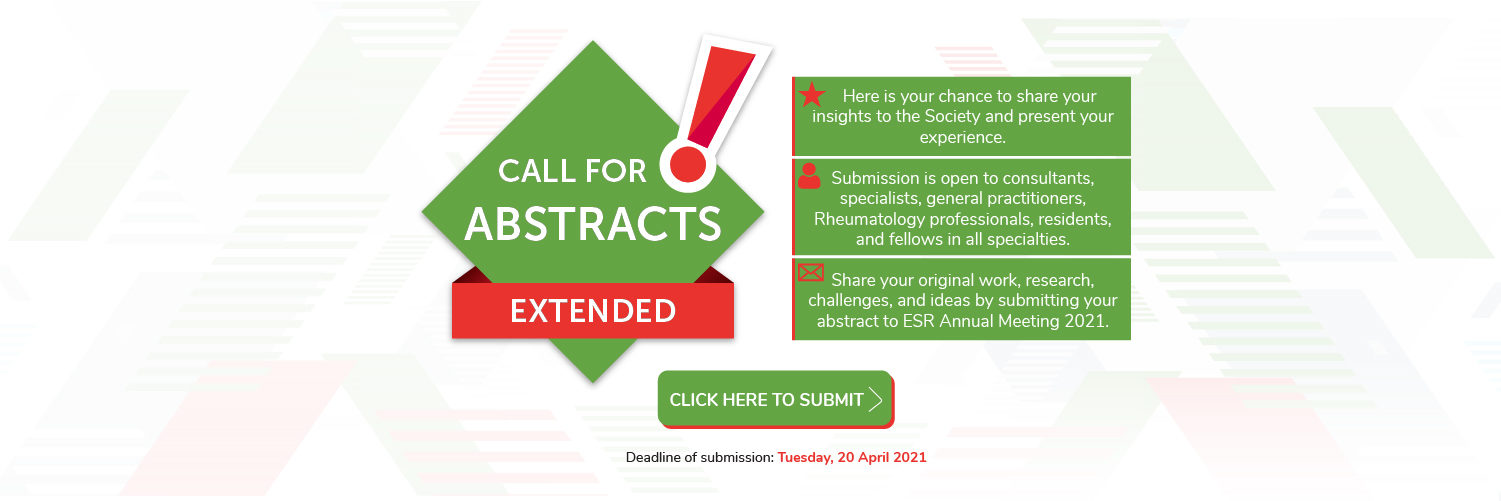 Call for Abstracts Extended